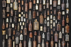 Barry Rosenthal Brown and Clear Bottles