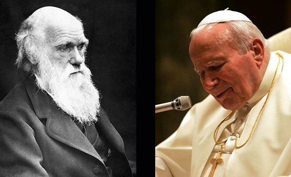 The Pope Meets Darwin