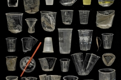 Barry Rosenthal Clear Plastic Cups