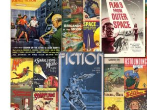 Science Fiction Artwork, 1901-1976